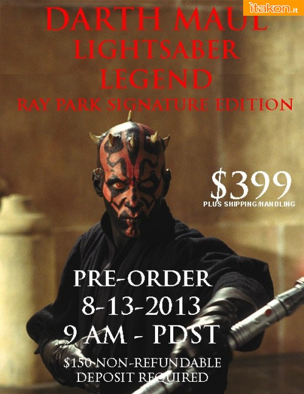 Link a Darth Maul Lightsaber Legend di eFX Collectibles (1)