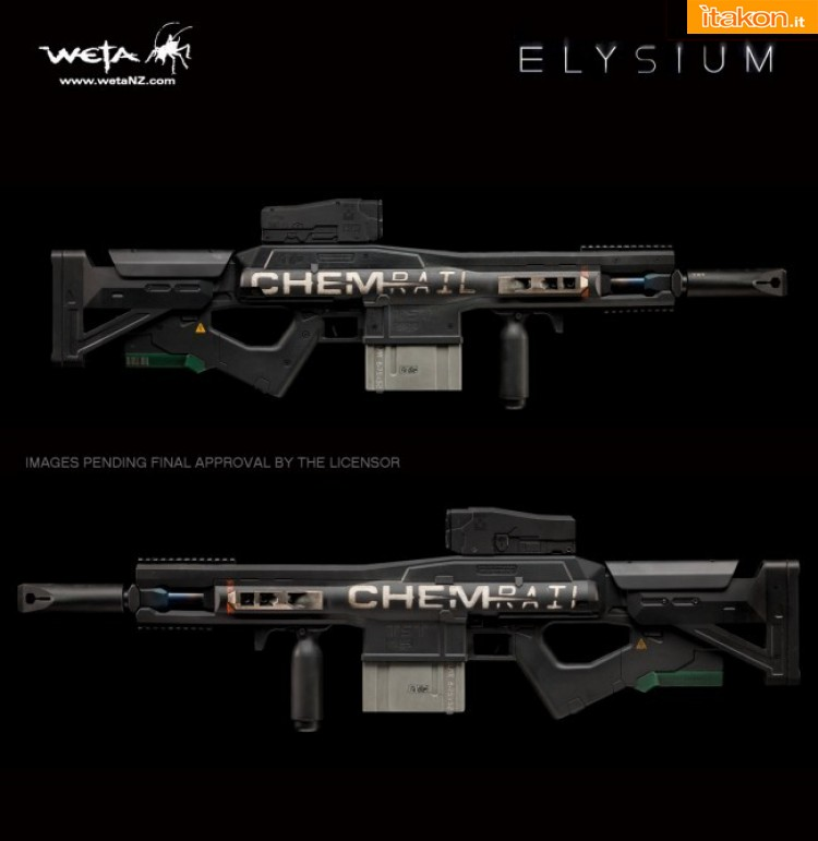 Link a Dual Stage Linear Motor Rifle  Prop Replica  (5)
