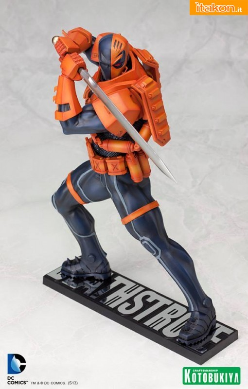 New 52 Deathstroke 1/6 ARTFX statue di Kotobukiya - Aggiornamento del prodotto