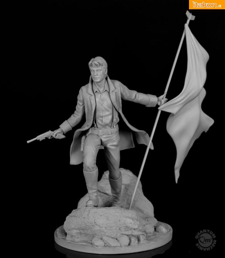 Link a Malcolm Reynolds 16 statue di Quantum Mechanix (1)