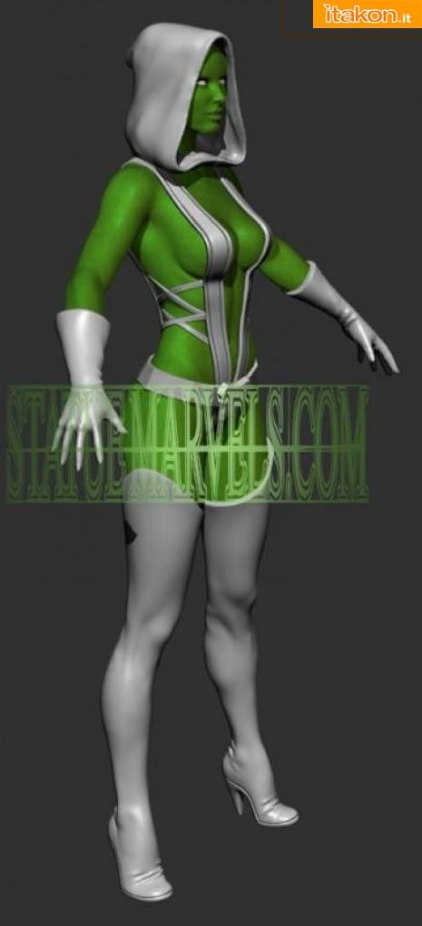 Link a Marvel Comics Gamora Statue di Bowen Designs (1)