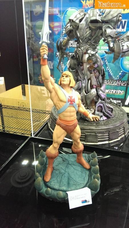 STGCC 2013: Prime foto live della statua di He-Man 1/4 di Pop Culture Shock
