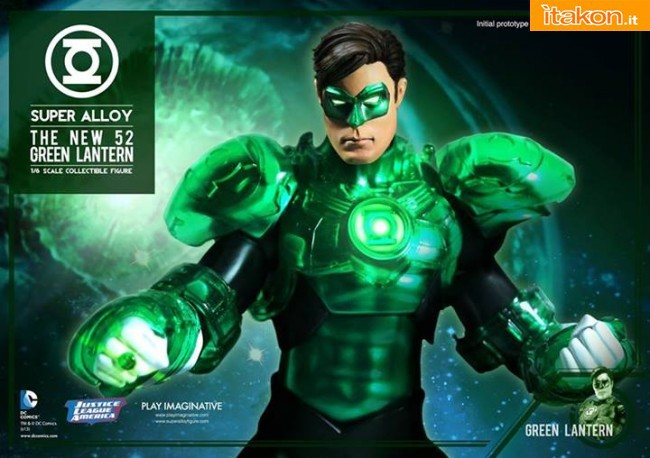 Green Lantern 1/6 scale figure di Play Imaginative