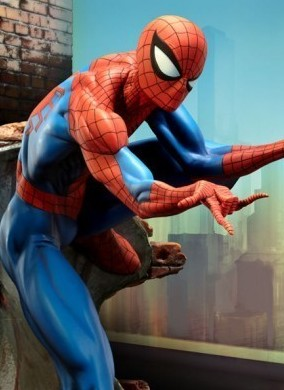 The Amazing Spider-Man Comiquette Scott Campbell di Sideshow - Anteprima