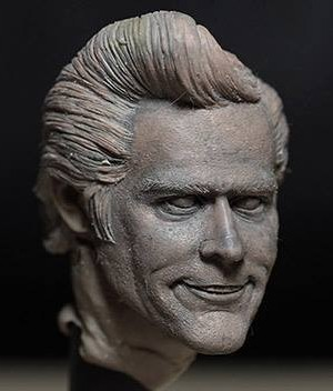 Asmus Toys: Ace Ventura Pet Detective (Jim Carrey) 1/6 - Work in Progress secondo volto