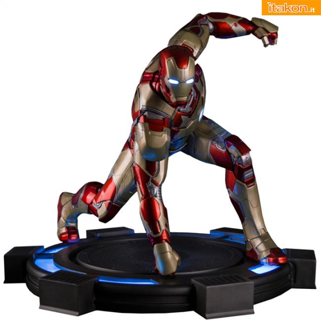 Iron Man 3: Mark XLII 1/4 statue di Iron Studos - Review Video