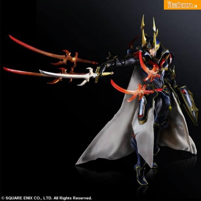 Final Fantasy: Warrior of Light Variant Play Arts Kai Square Enix 3