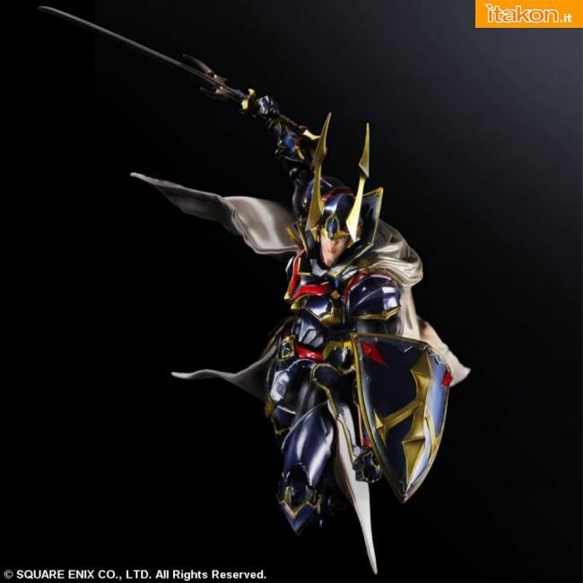 Final Fantasy: Warrior of Light Variant Play Arts Kai Square Enix 2