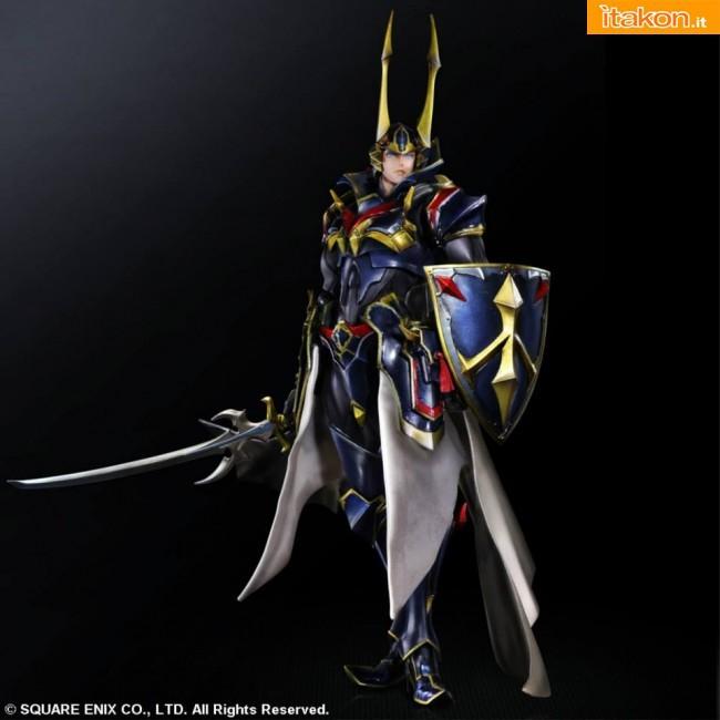 Final Fantasy: Warrior of Light Variant Play Arts Kai Square Enix 1