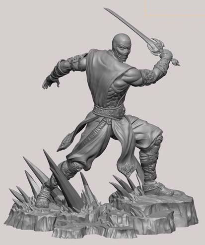 Mortal Kombat: Sub-Zero 1/4 statue di Pop Culture Shock - Nuovo Teaser