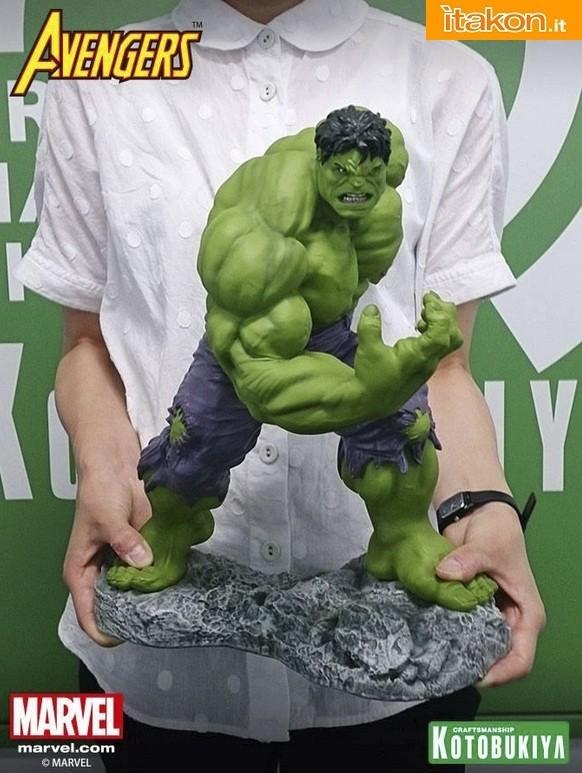 Hulk Classics Avengers 1/6 di Kotobukiya - Prima immagine del prodotto finito