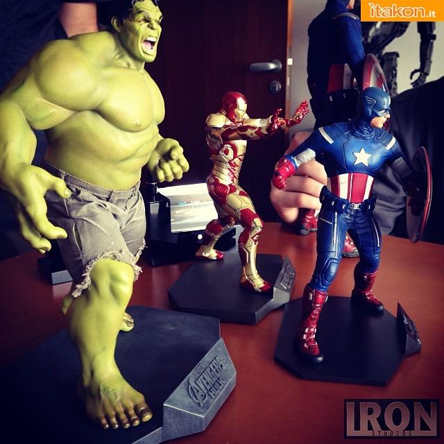 The Avengers: Captain America 1/10 statue di Iron Stusios - Prodotto ultimato