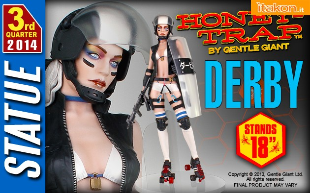 Honey Trap Derby Statue