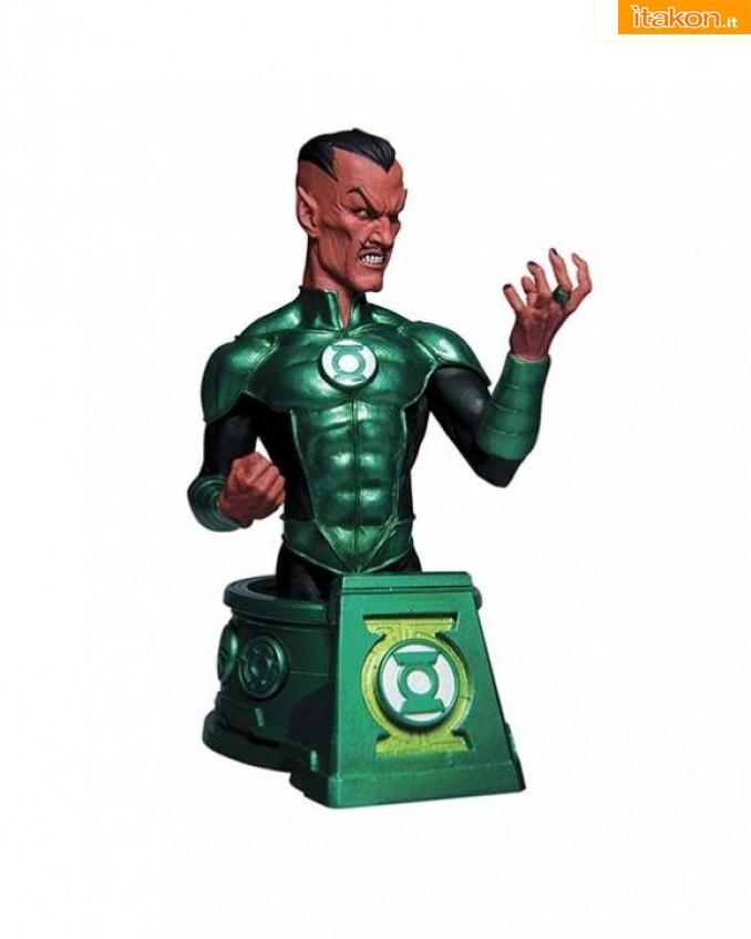 Link a DC Comics Batman, Superman ed il busto di Sinestro di DC Collectibles  (1)