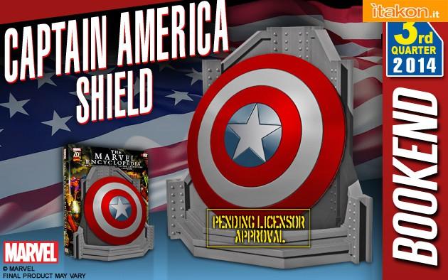Link a Captain America Shield Bookend di Gentle Giant