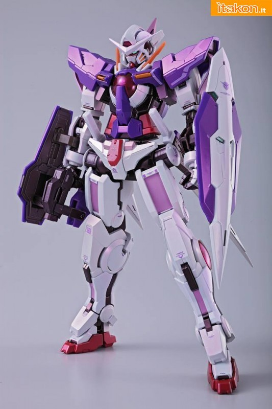 Tamashii 2013: Gundam Exia Trans-AM Ver. Metal Build di Bandai