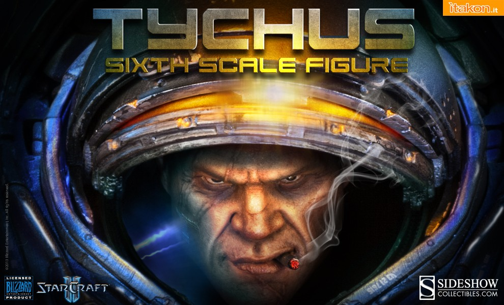 Link a Spooktacular 2013: Tychus Findlay 1/6 Scale Figure da Starcraft 2 di Sideshow – Coming Soon