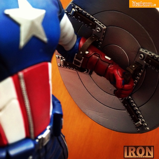 Captain America Art Scale 1/10 scale di Iron Studios - Nuovo Teaser