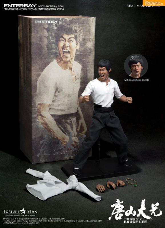 Enterbay - Bruce Lee Big Boss 0