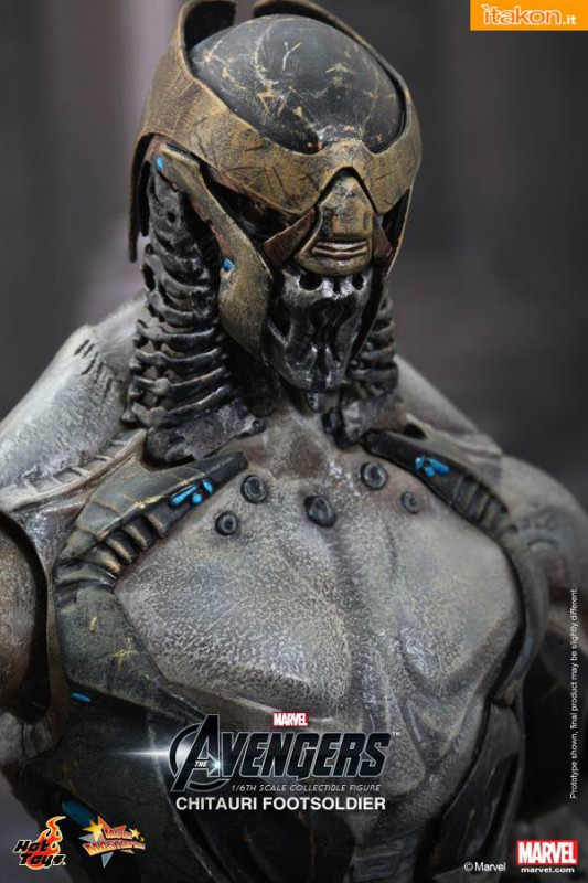 Hot Toys: Chitauri Footsoldier MMS 1/6 scale The Avengers – 04