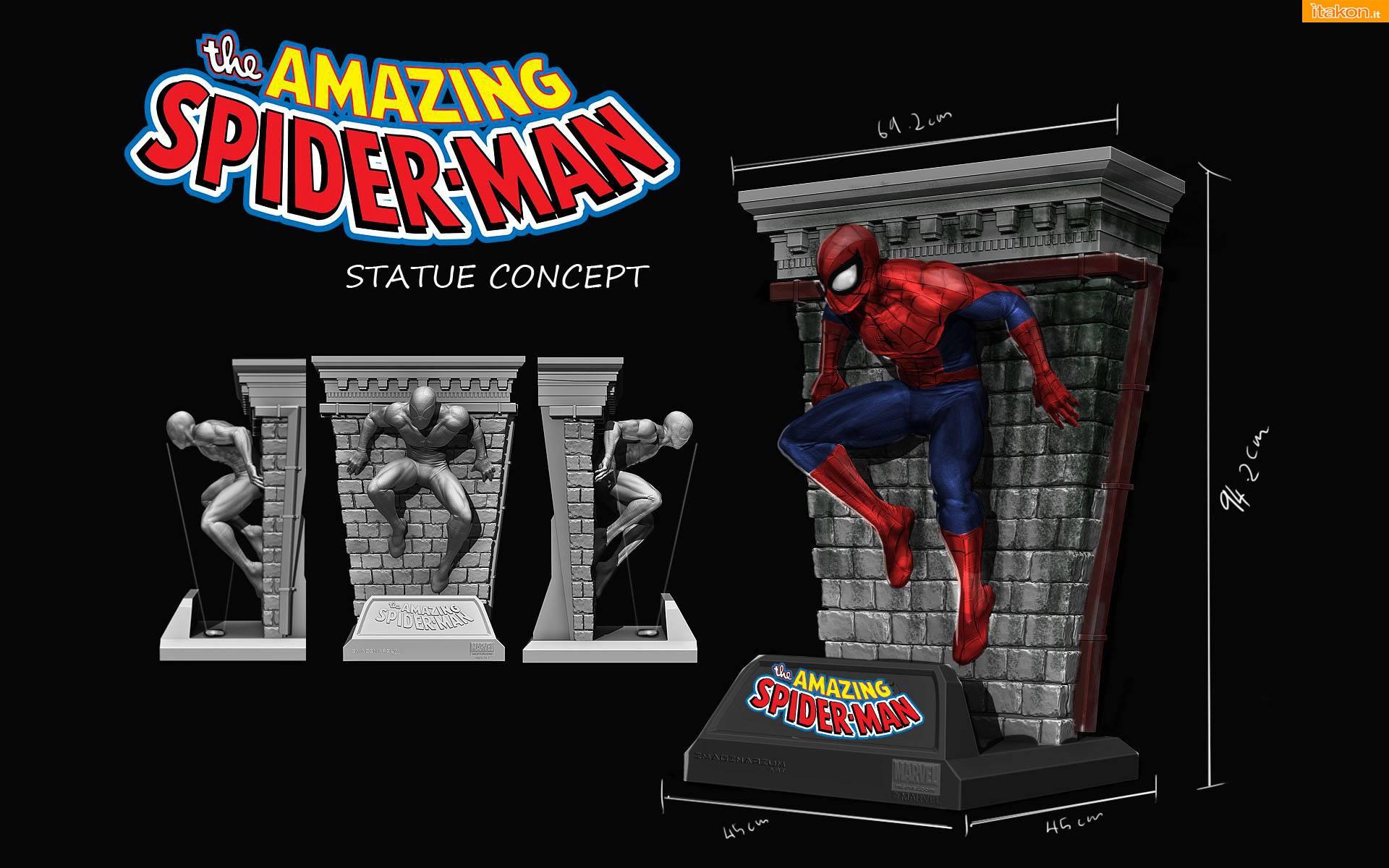 Link a Imaginarium Art: Spider Man 1/2 Replica Masterpiece 01