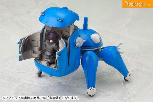 Link a Ghost in the Shell S.A.C. Tachikoma Plastic Kit with Motoko e Batou di Kotobukiya in preordine 13