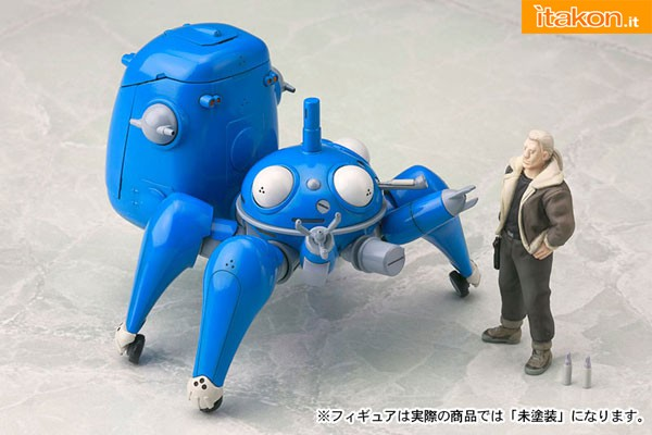 Link a Ghost in the Shell S.A.C. Tachikoma Plastic Kit with Motoko e Batou di Kotobukiya in preordine 14