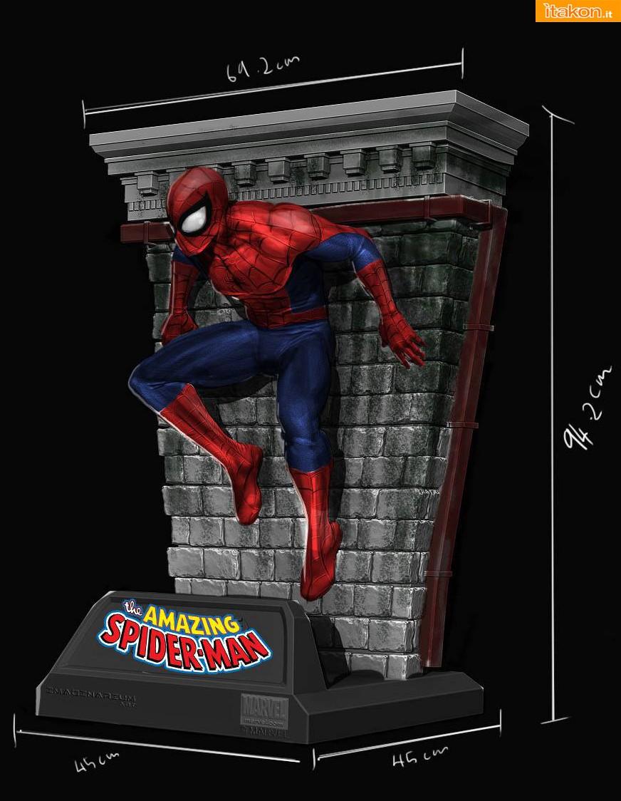 Imaginarium Art: Spider Man 1/2 Replica Masterpiece 03