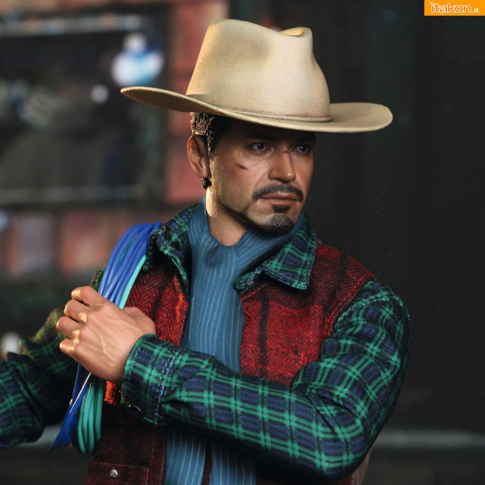 Link a Hot Toys: Rose Hill Tony Stark (MiLK special edition) 05