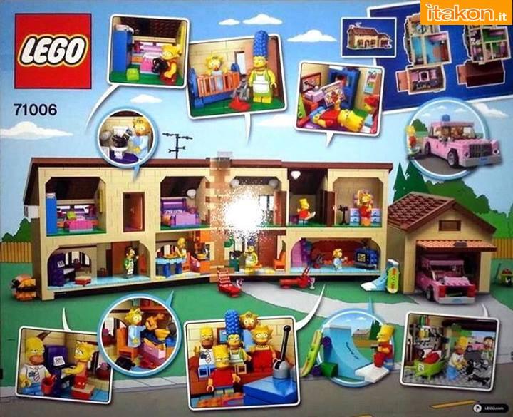 Link a LEGO Simpsons: prima foto della casa e dei personaggi