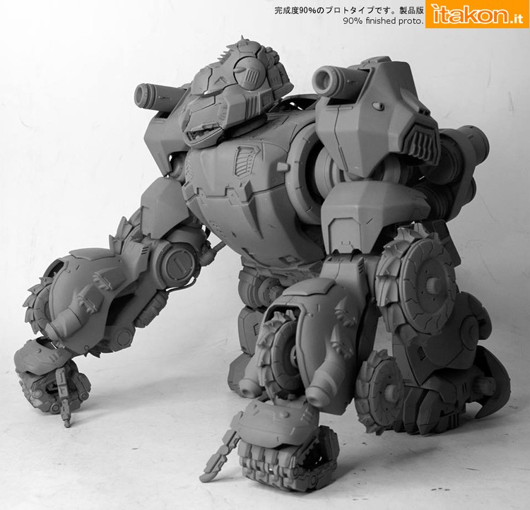 Link a Zoids: ron Kong 1/72 scale figure di Threezero – Coming Soon01