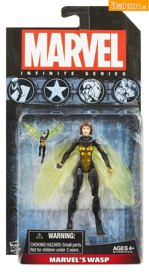 Link a MARVEL-INFINITE-SERIES-WASP-A8394-In-Pack