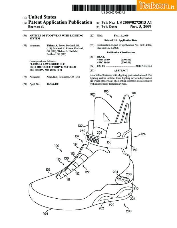 """NIKE Air Mag – Le scarpe di """"Ritorno al Futuro"""" presto in produzione ... da0a427ac2f"""