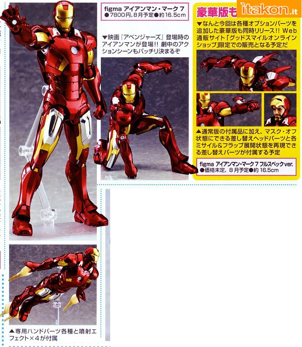 Link a figma iron man max factory