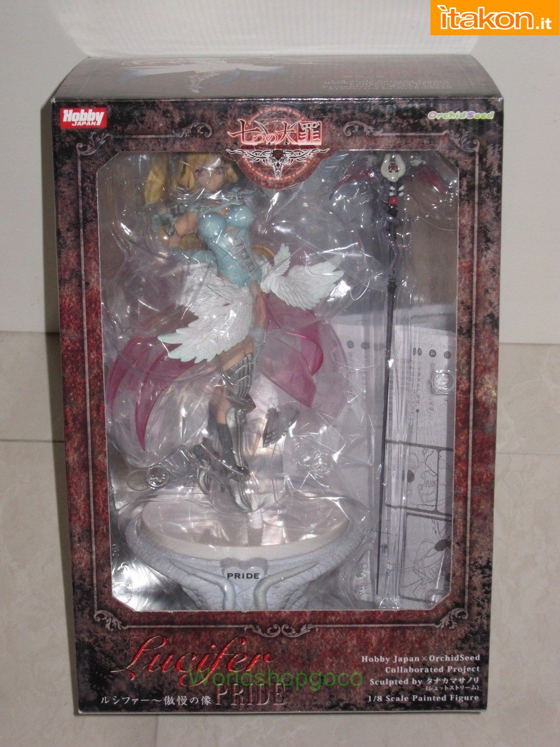 Link a AntiBOOTLEG – Lucifer WF Limited – The Seven Deadly Sins – Orchid Seed 01