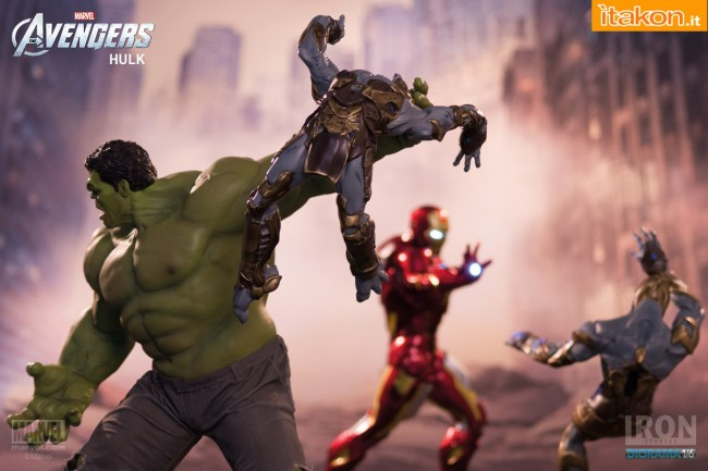 Iron Studios Hulk 16 diorama  (1)