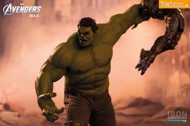Iron Studios Hulk 16 diorama  (20)