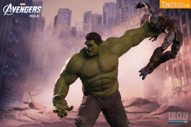 Iron Studios Hulk 16 diorama  (3)