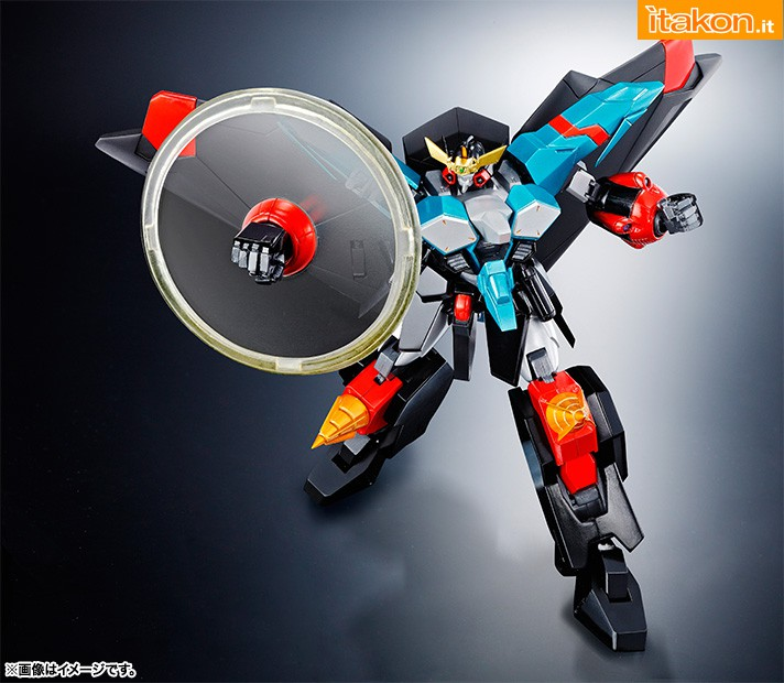 Link a Super Robot Chogokin Gaofighgar (2)