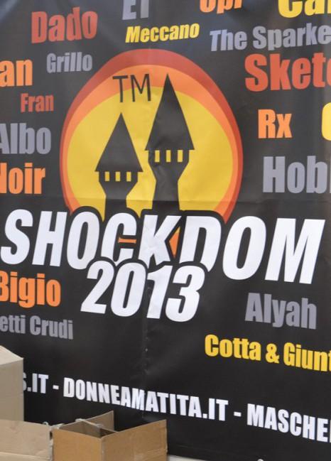 Link a Bigio – Dado – Drizzit – Maschera Gialla – Shockdom – Romics 2014 – ant
