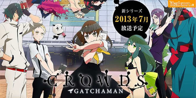 Link a Gatchaman Crowds – Utsutsu – Amakuni – proto non colorato – 3
