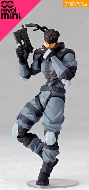 Link a Solid Snake – Revolmini – Kaiyodo – foto ufficiali – 2