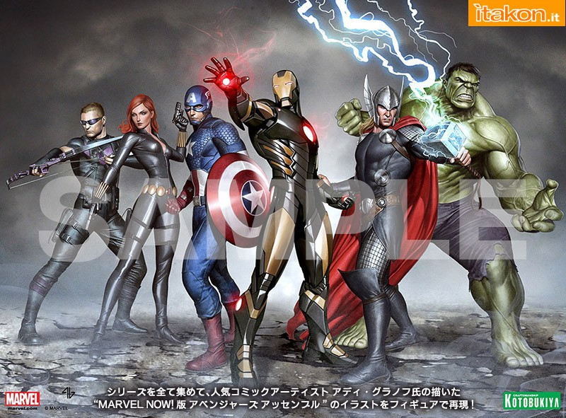 Link a Thor Marvel Now ARTFX+ (9)