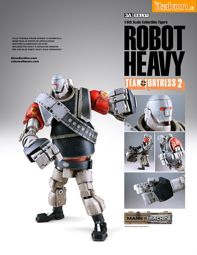 Link a 28 maggio threeA – Team Fortress 2 Red Robot Heavy