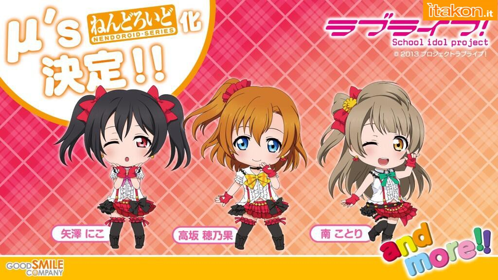 Link a Love Live! School Idol Project – Nendoroid Good Smile Company 01