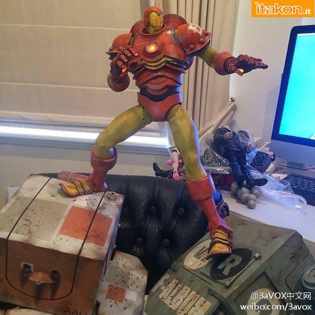 Link a ThreeA Toys: The Invicible Iron Man 1/6 Marvel – Prima foto live