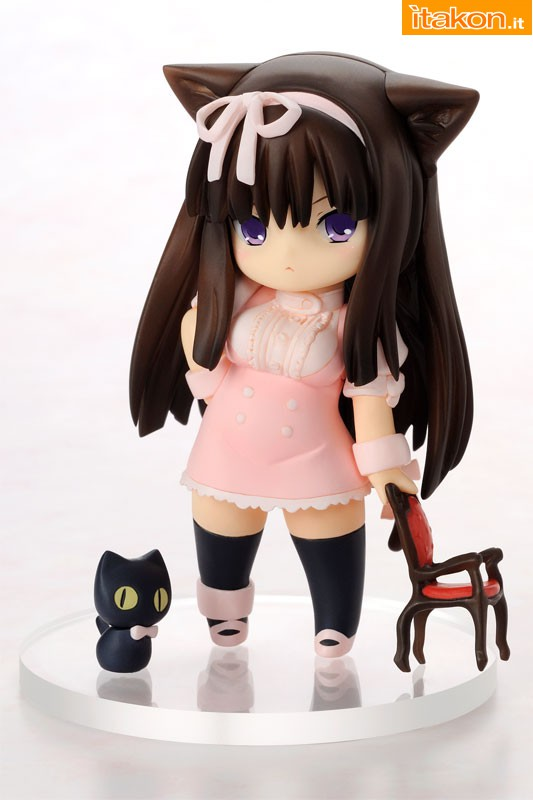Link a Chicchai Neko to Isu – Small cat and chair