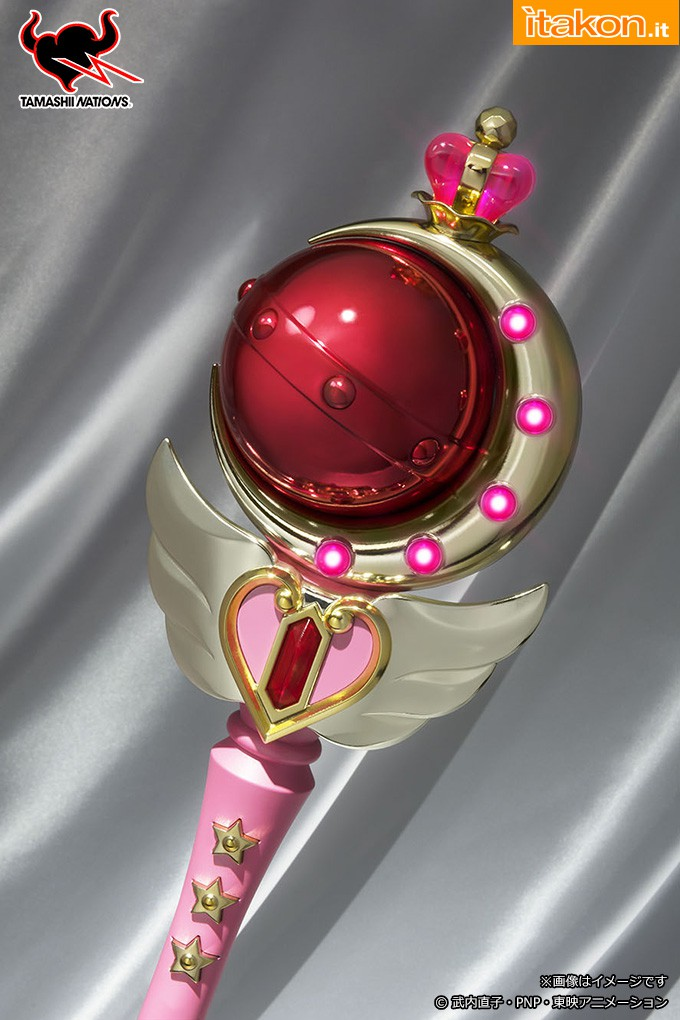 Link a cutie moon rod – sailor moon – bandai – proplica – 8
