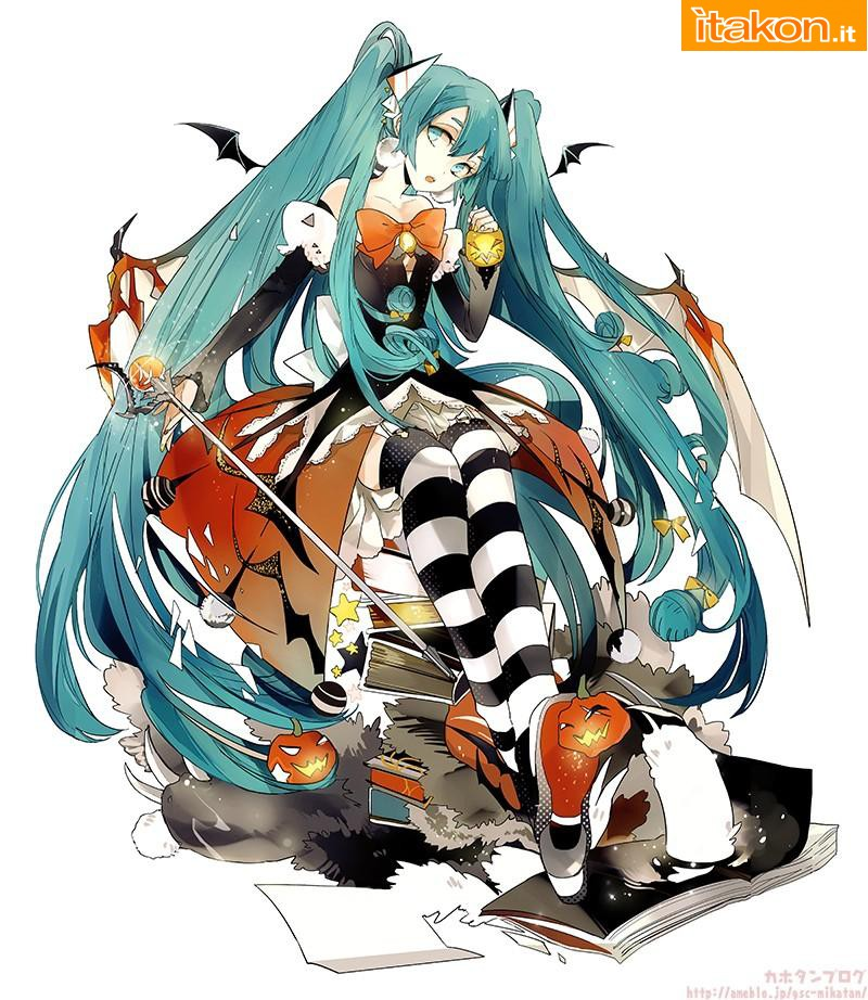 Link a miku halloween – gsc – nendoroid – foto uff – 2