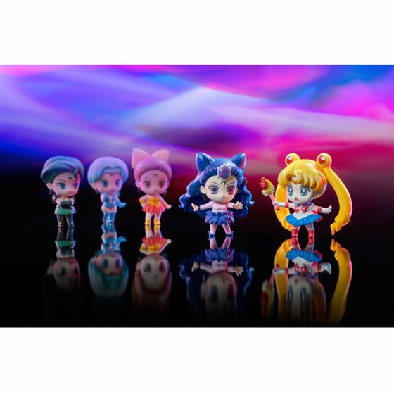Link a Sailor Moon x MegaHouse foto ufficiali per il nuovo set Petit Chara Series 10